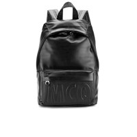 Mcq By Alexander Mcqueen Men's Classic Leather Backpack Black