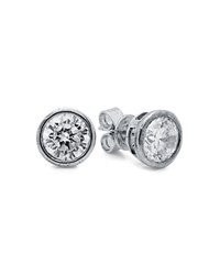 Crislu Stud Earrings Silver