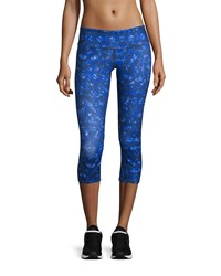 Alo Yoga Airbrush Capri Leggings Kaleidoscope Print