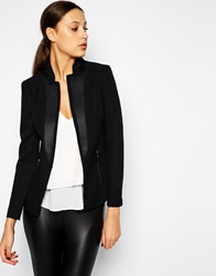 Y.A.S Blazer With Zip Pockets Black