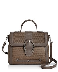 Etienne Aigner Small Eti Barrel Satchel Putty