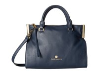 Vince Camuto Tina Small Satchel Dress Blue Satchel Handbags Navy
