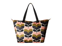 Orla Kiely Stripe Rosebud Zip Shopper Multi Handbags