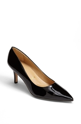 Trotters Signature 'Alexa' Kidskin Leather Pump Black Patent