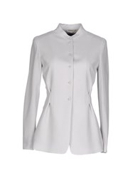 Emporio Armani Suits And Jackets Blazers Women Light Grey