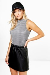 Boohoo Mono Vest Top Multi