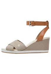 Marc O'polo Platform Sandals Slush Cognac Taupe