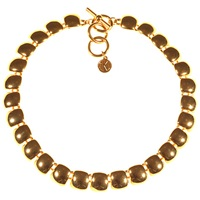 Alice Joseph Vintage 1980S Anne Klien Collar Necklace Gold