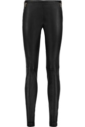 Emilio Pucci Leather Skinny Pants
