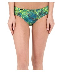 Lole Carribean Bottoms Spring Tropical Women's Swimwear Green