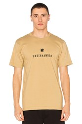 Undefeated Underhanded Tee Tan