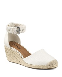 Sperry Espadrille Wedge Sandals Valencia Closed Toe