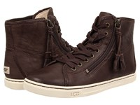 Ugg Blaney Chocolate Leather Women's Boots Brown
