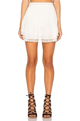 Free People Summer's Night Skirt Ivory