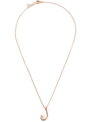 Miansai Mini Hook Necklace Metallic