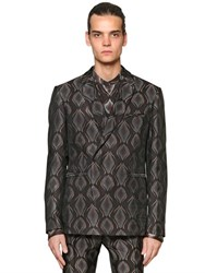 Etro Viscose And Silk Jacquard Tailored Jacket
