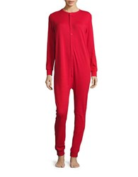 Drake General Store Thermal Coverall Red