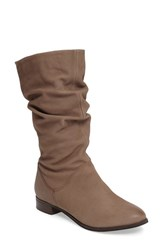 Dune Women's London 'Rosalind' Water Resistant Boot Taupe Leather