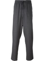 Barena Elasticated Waist Loose Fit Trousers Grey