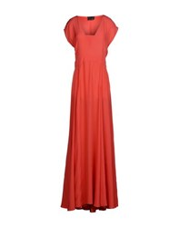 Fendi Dresses Long Dresses Women Coral