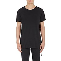 Ksubi Men's Seeing Lines T Shirt Black Blue Black Blue