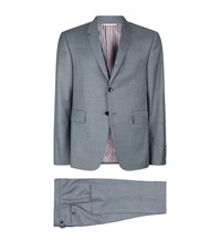 Thom Browne Classic Twill Suit Male Grey