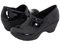 Nurse Mates Bryar Black Patent Women's Clog Shoes