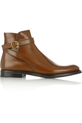 Church's Merthyr Polished Leather Ankle Boots Tan
