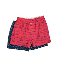 Tommy Bahama Woven Boxer Set Sail Away Lobster Claw Men's Underwear Pink