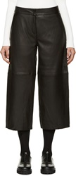 Won Hundred Black Leather Mynte Culottes
