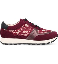 Kg By Kurt Geiger Lacey Floral Trainers Mult Other