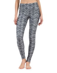 Mpg Ankle Length Leggings Grey