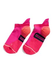 Stance 'Painted Low' Stripe Reinforced Heel Performance Socks Pink
