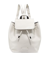 Marc By Marc Jacobs Ligero Leather Flap Top Backpack Tumbleweed Beige