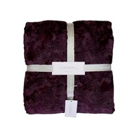 Ted Baker Pierra Throw Damson