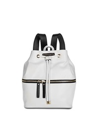 Kenneth Cole Reaction Bondi Girl Faux Leather Backpack Chalk