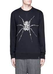 Lanvin Spider Embroidered Sweatshirt Black