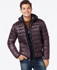 Tommy Hilfiger Hooded Packable Jacket Port