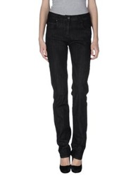Jil Sander Navy Denim Pants Black