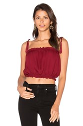 Stone_Cold_Fox Ginger Crop Top Red