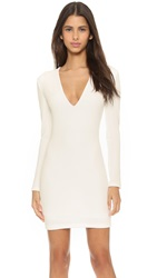 Bec And Bridge Long Sleeve Reversible Mini Dress Ivory