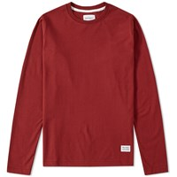 Norse Projects Long Sleeve Niels Basic Tee Red