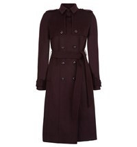 Hobbs Callaghan Trench Red