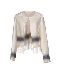 Noshua Suits And Jackets Blazers Women Ivory