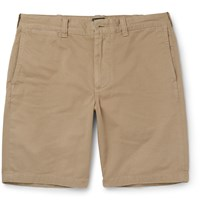 J.Crew Stanton Cotton Twill Chino Shorts Brown