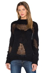 Astr Louise Sweater Black