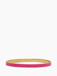 Kate Spade Hot To Trot Idiom Bangle Flo Pink