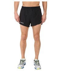 New Balance Impact 3 Split Shorts Black Men's Shorts