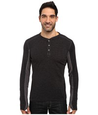 Kuhl Vanquisher Long Sleeve Shirt Raven Men's Long Sleeve Pullover Black