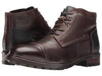 Josef Seibel Oscar 23 Moro River Men's Lace Up Boots Brown